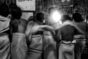 Fine Art Funday – Novice monks in Chennai , India
