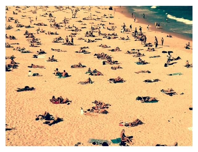 Sunday at Bondi Beach